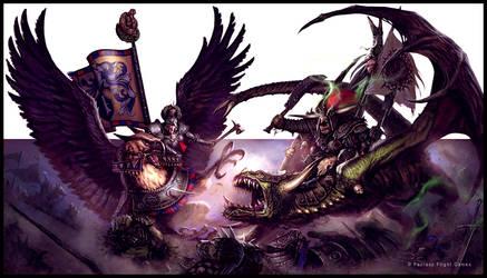 Warhammer Invasion: Legends by guterrez