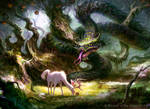 Snake of the Golden Grove by guterrez