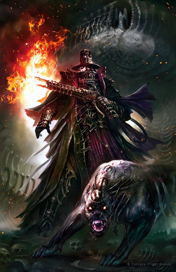 Warhammer 40K Forgotten Gods by guterrez