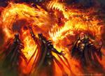 MTG Stoke the Flames PROMO