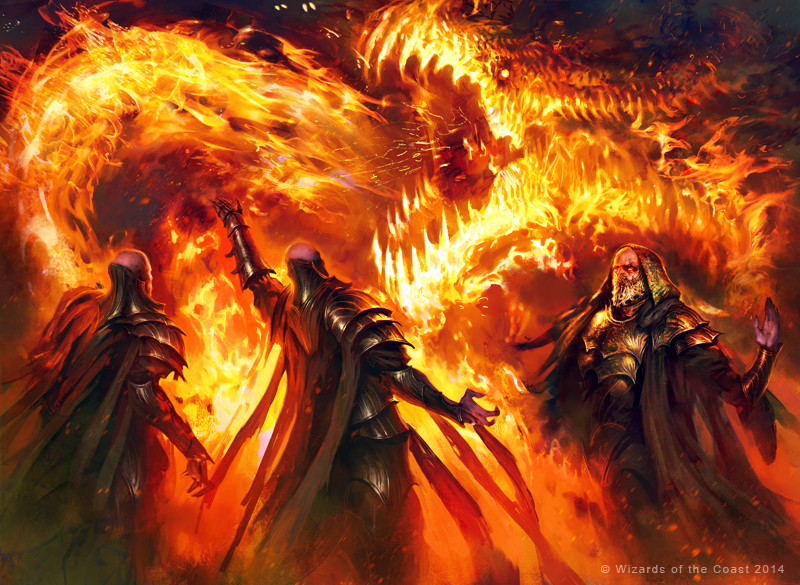 MTG Stoke the Flames PROMO by guterrez