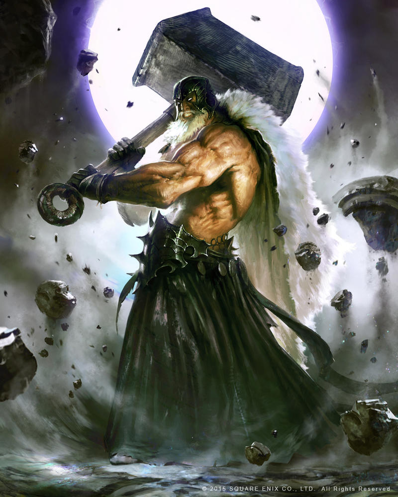 Mevius Final Fantasy: Thor by guterrez