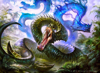 MtG Broodbirth Viper by guterrez