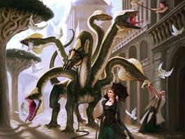 Domesticated Hydra by guterrez