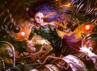 Grusilda Monster Masher by guterrez