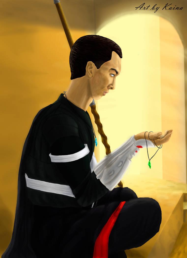 JulyOfBoys #9: Chirrut Imwe by Emeramice