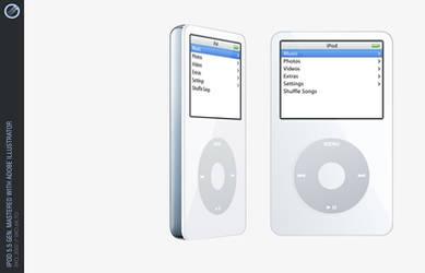 iPod 5.5, compl. vector by iixo