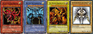 The Egyptian God cards