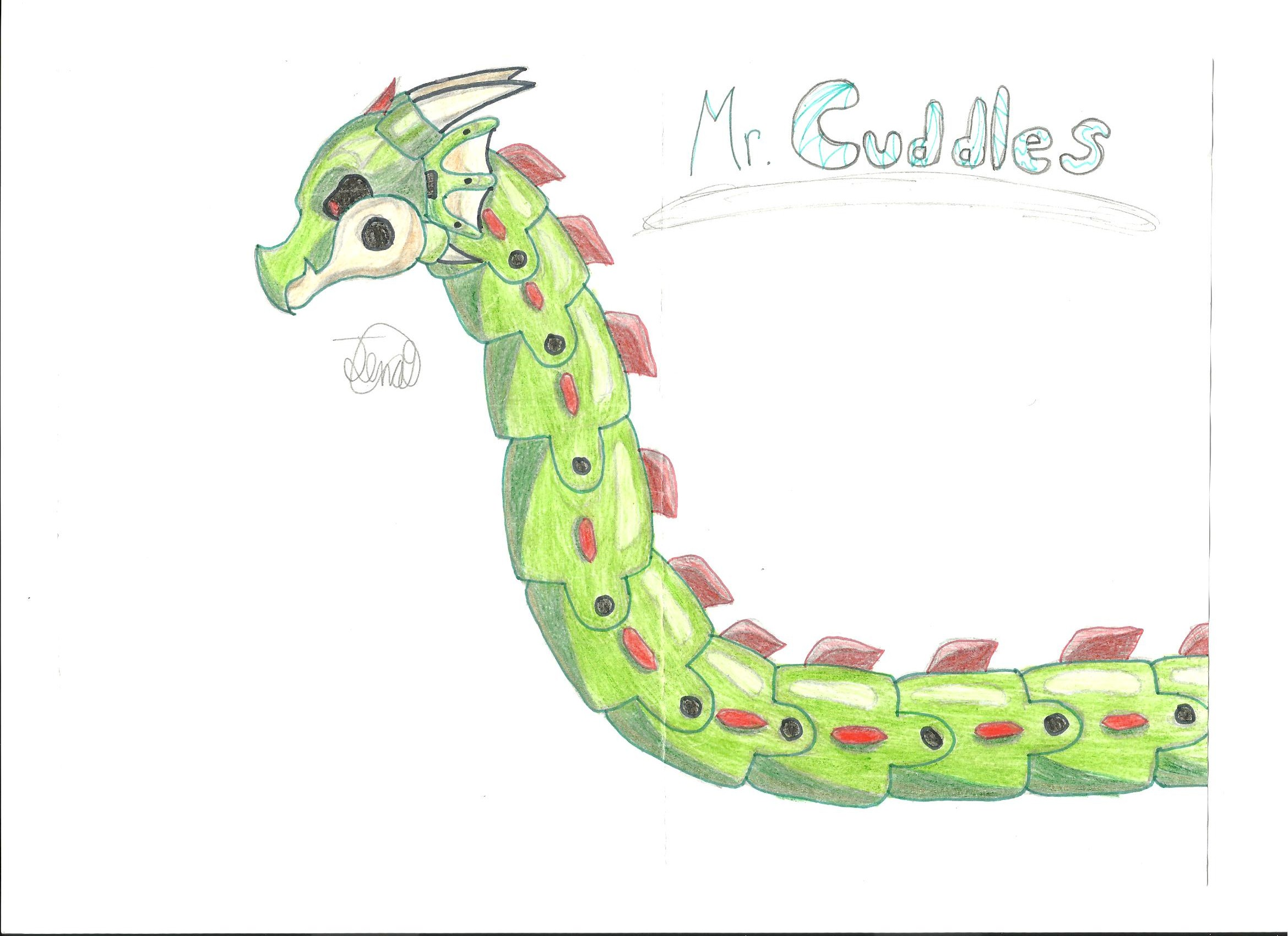 Mr. Cuddles :D by Jena-TS