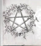 Pentacle with Ivy