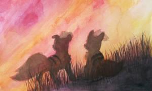 Sunset by PitchBlackEspresso