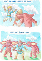 Breath of the Wild Priorities: Bokoblins by PitchBlackEspresso