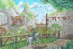 Kakariko Village by PitchBlackEspresso