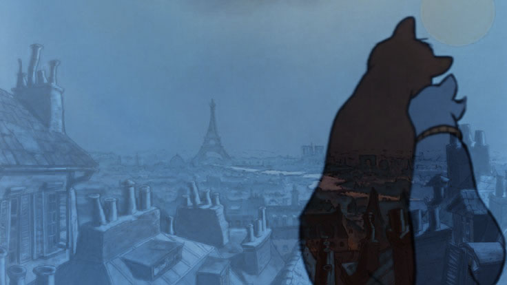 A Night in Paris by Etrenelle