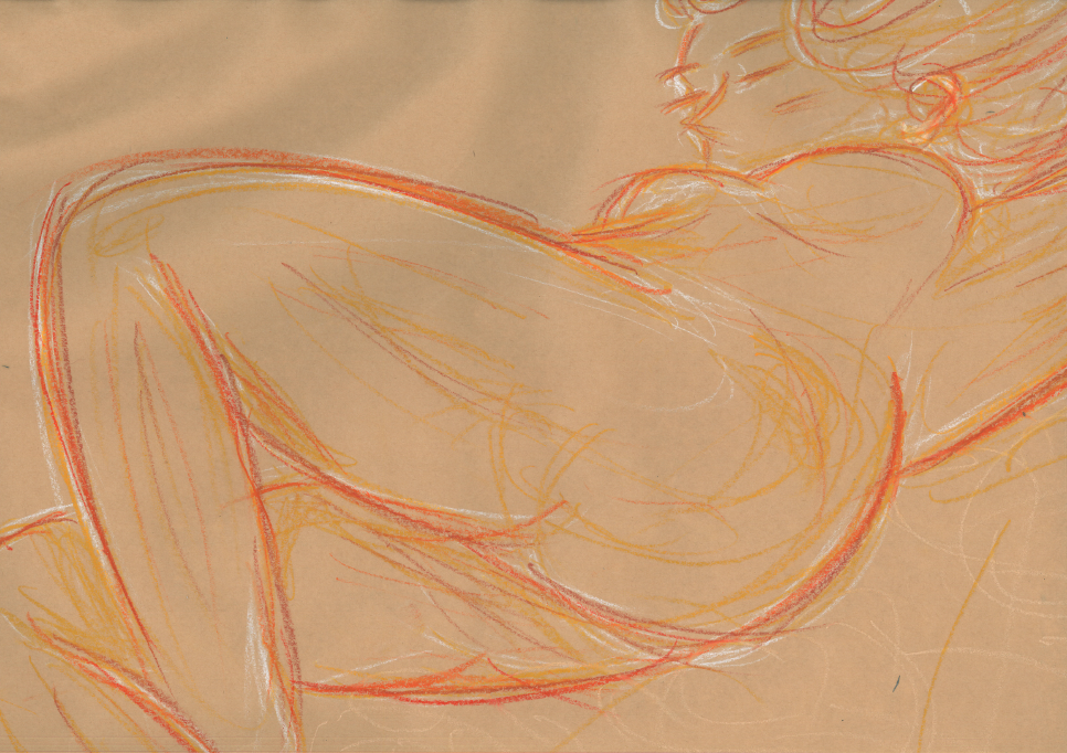 Life Drawing #2- Scanned by Etrenelle