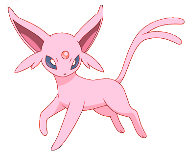 Espeon - Photoshop by Etrenelle