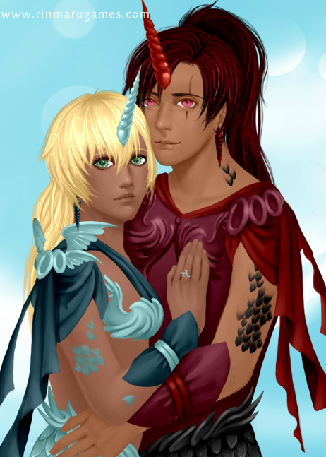 Kirin Couple by Etrenelle