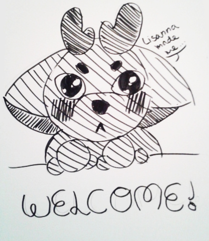 Theorane says WELCOME! by Etrenelle