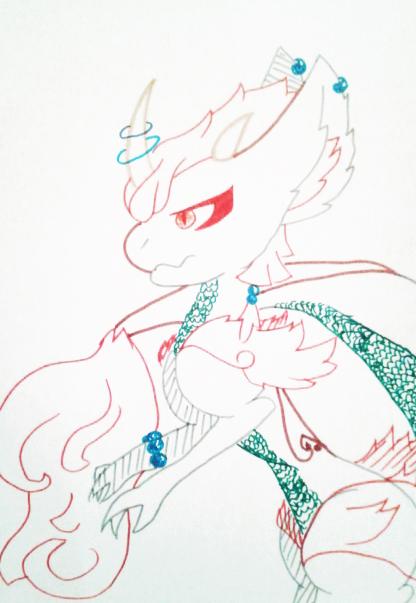 Gift :: Rakdos - Hoshiryu by Etrenelle