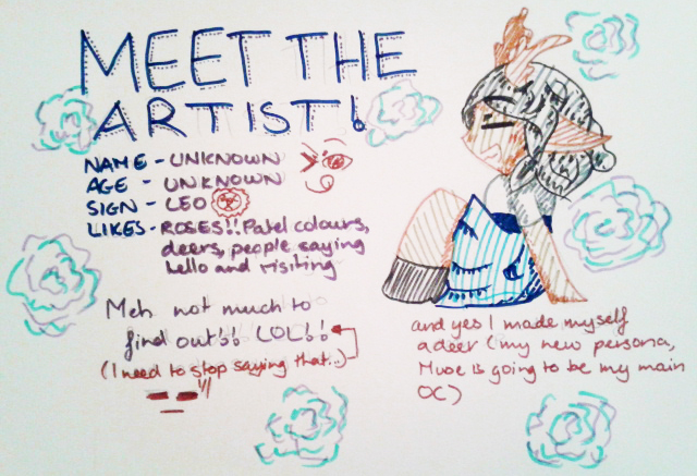 Meet The Artist!! by Etrenelle