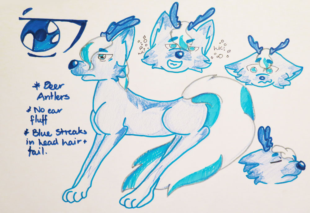 COM :: Wolf Deer Custom by Etrenelle
