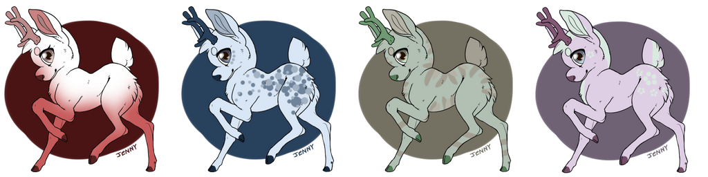 Auction Deer Batch 2/4 :: OPEN SB 1 Point by Etrenelle