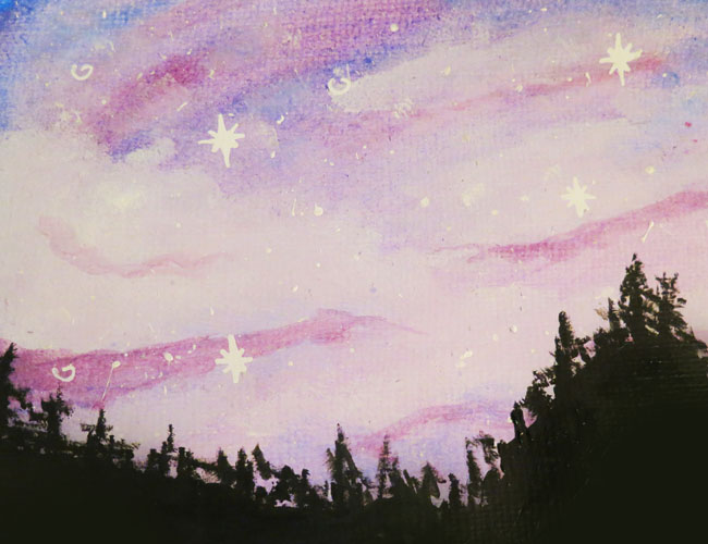 [TEST] Galaxy Background by Etrenelle