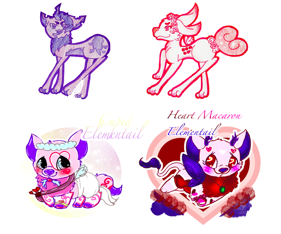 OPEN :: Valentine D/ND + Elementail Collab Auction by Etrenelle