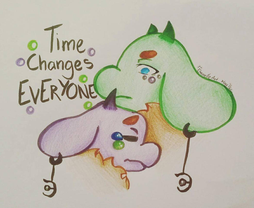 Time Evolves Us by Etrenelle