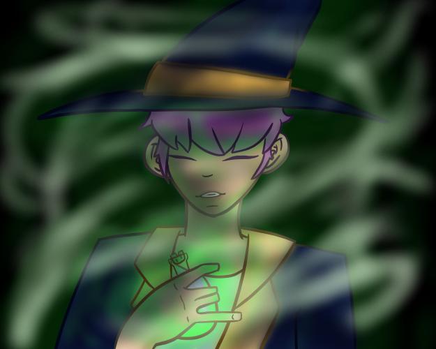 Magician Boy by Etrenelle