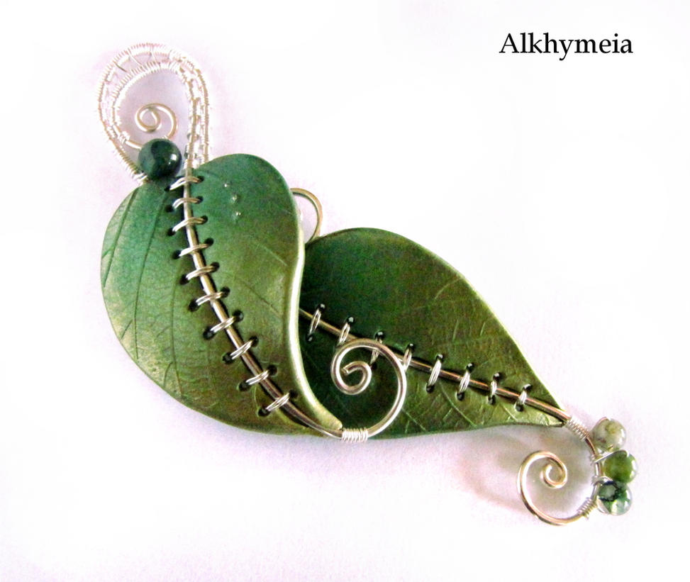 Chlorophyll, the Pendant by Alkhymeia