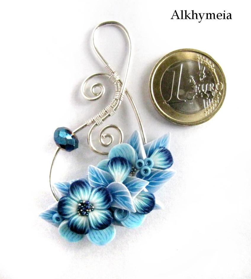 Secret Garden in Blue by Alkhymeia