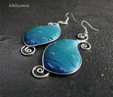 Panta Rei, the earrings