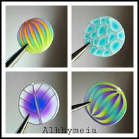 My Translucent Canes by Alkhymeia