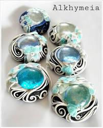 Gocce in Azzurro