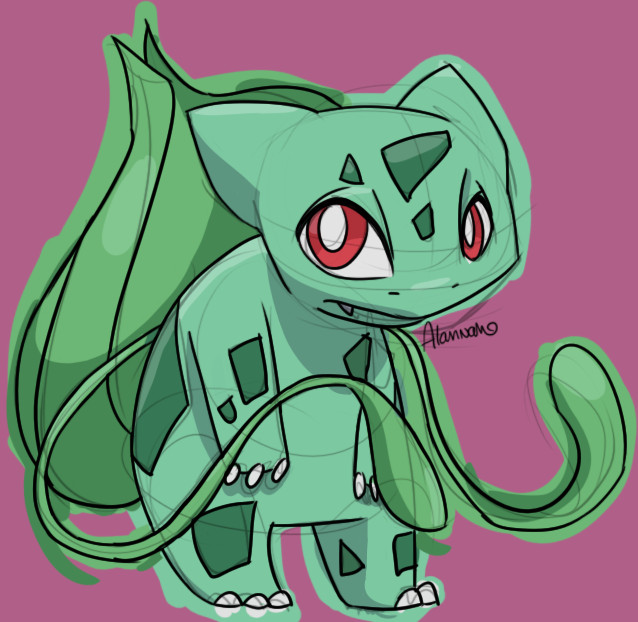 Bulbasaur by skeletall