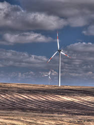 Wind turbines by enricotasca