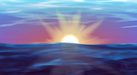 Paint.NET Sunset