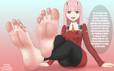 Zero Two's Soles by BSFLove