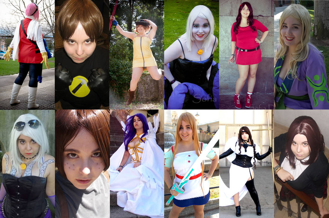 My 2013 in cosplay! by Nullien