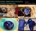 Tutorial: Dyeing fabrics with Dylon dye by Nullien