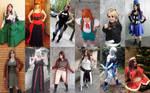 2014 cosplay recap!