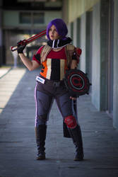 Athena the Gladiator (Borderlands The PreSequel) by Nullien