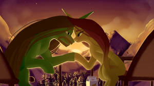 Some Day We'll Watch The Sun Rise by Here-for-the-ponies