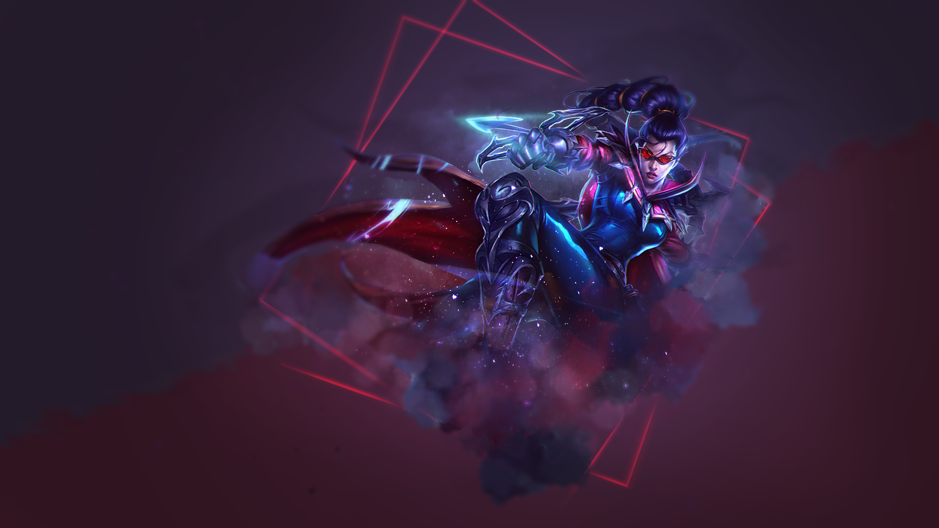 League of Legends - Wallpaper - Vayne by SomeBeNNy on ...