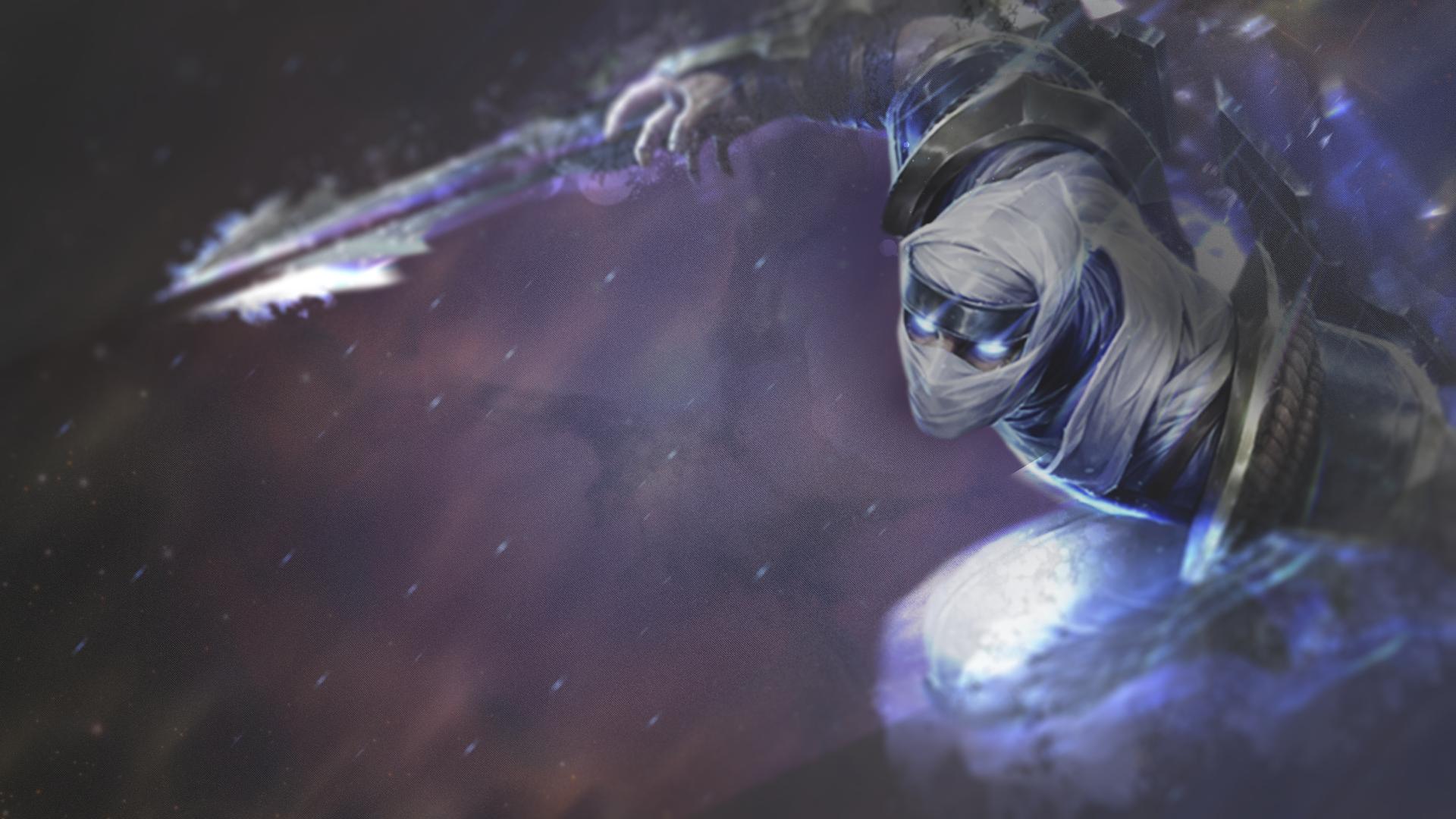 League of Legends - Shockblade Zed - Wallpaper by ...