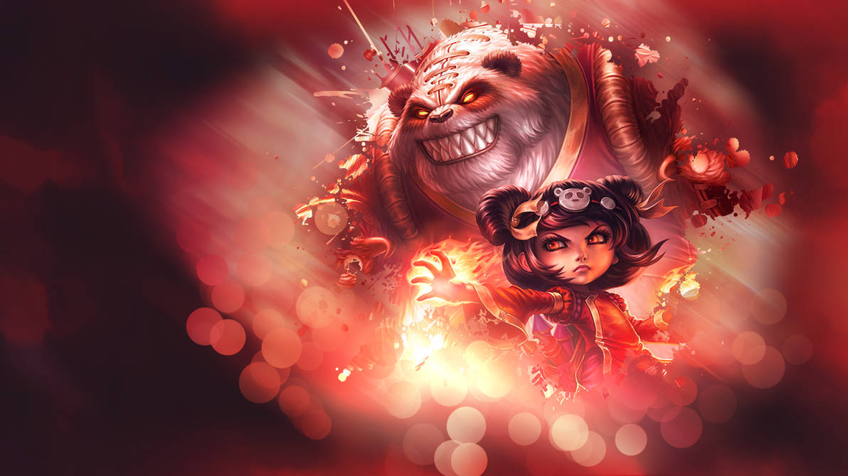 League Of Legends Annie Wallpaper By Somebenny On Deviantart
