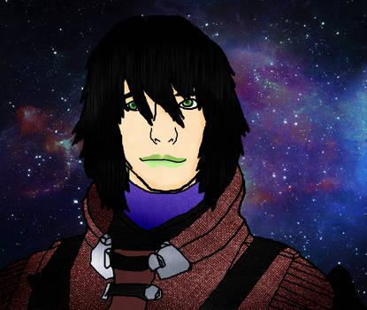 Portrait of my Destiny character