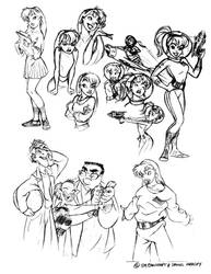 Sketchbook1(Early 'Betty' designs)