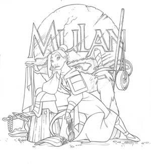 Sketchbook(Mulan fini)